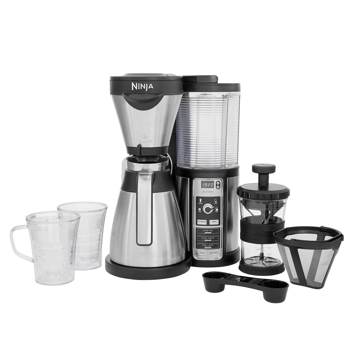 Ninja Coffee Bar Auto-iQ Brewer with Thermal Carafe – CF065UK