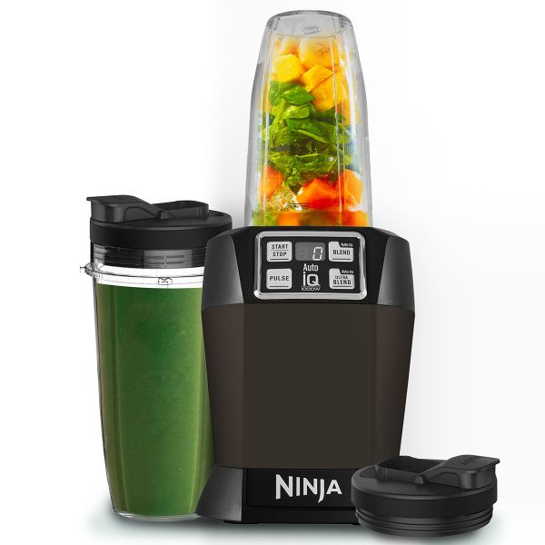 Nutri Ninja Blender & Smoothie Maker with Auto-iQ 1000W - BL480UKMO - Mocha