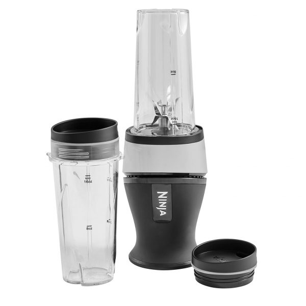 Image of Nutri Ninja Slim Blender & Smoothie Maker 700W – QB3001UK – Silver
