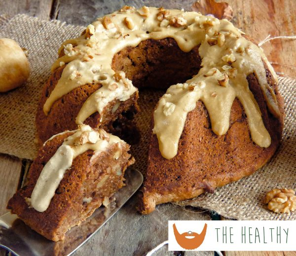 Vegan Parsnip & Walnut Cake