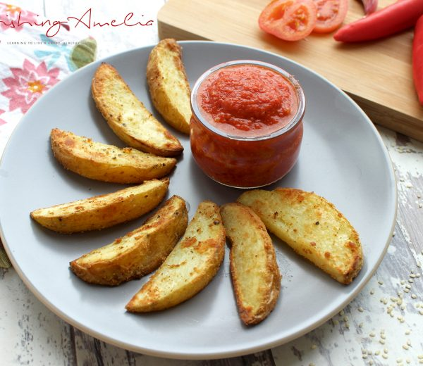 Crispy Potato Fries & Sweet Chilli Ketchup