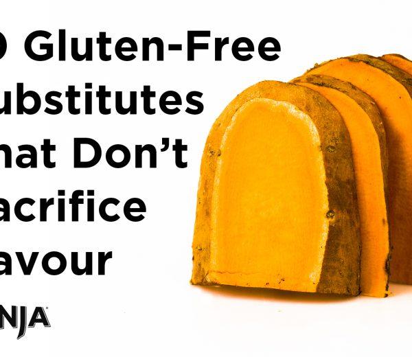 10 Gluten-Free Substitutes That Don't Sacrifice Flavour