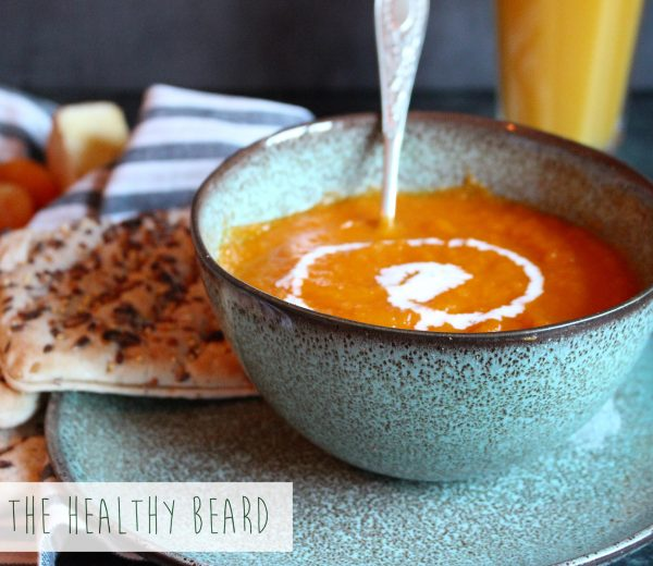 Carrot, Apricot & Ginger Soup