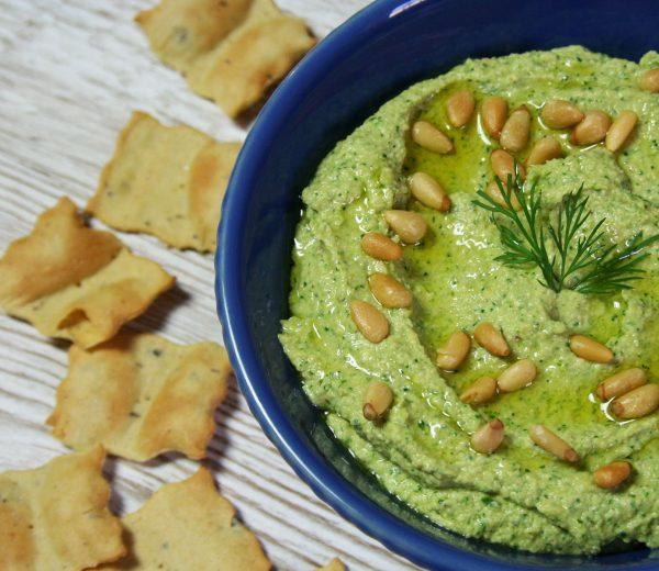 Spanakopita Hummus