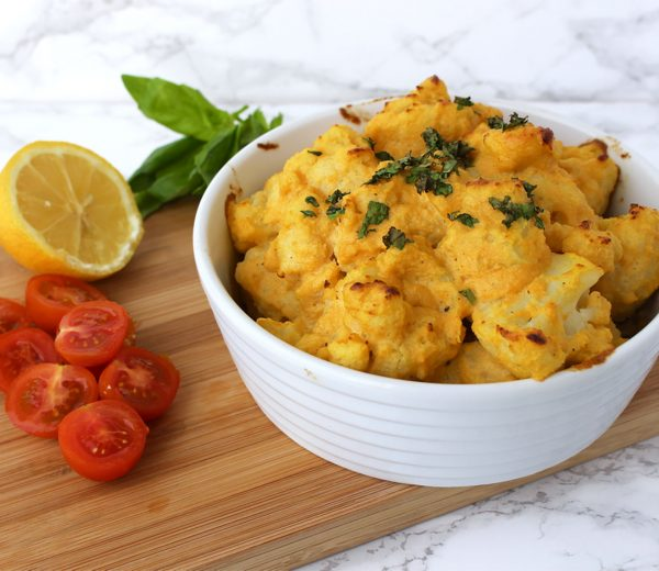 Vegan Cauliflower Cheese
