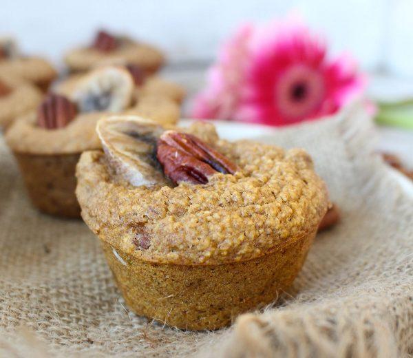 Banana & Pecan Muffins