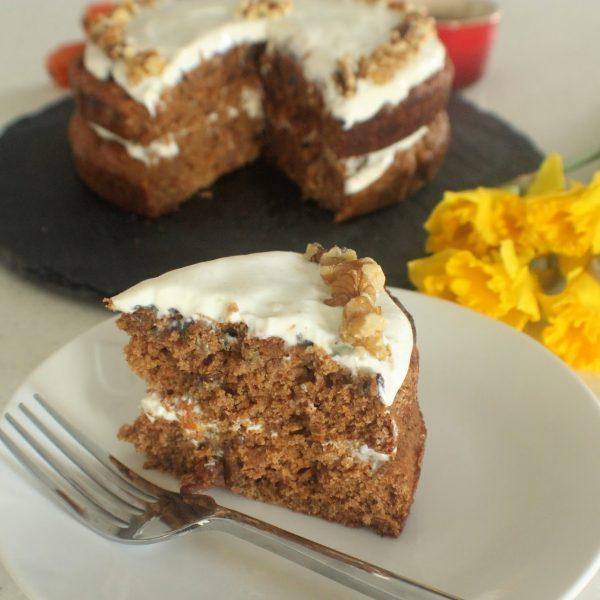 Carrot, Orange & Ginger Cake