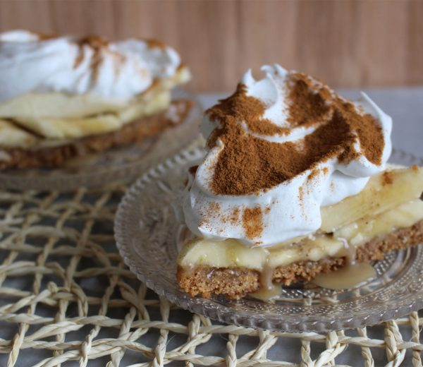 Banoffee Pie With Homemade Caramel & Whipped Coconut Cream