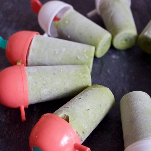 Avocado & Kiwi Ice-lollies
