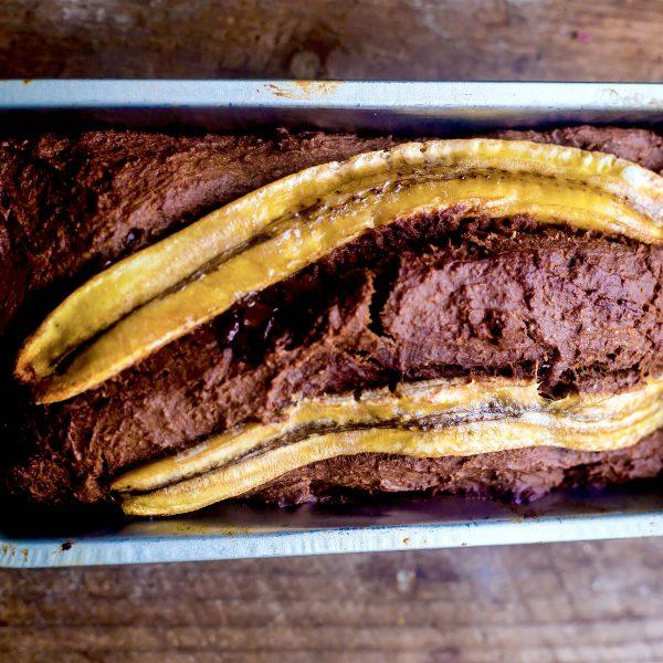 Banana, Yogurt & Chocolate Chip Bread