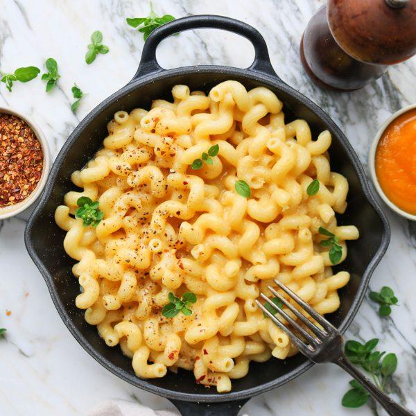 Pumpkin & Potato Mac & Cheese