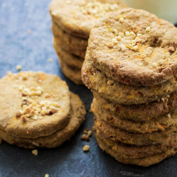 Carrot, Cinnamon And Nutmeg Biscuits