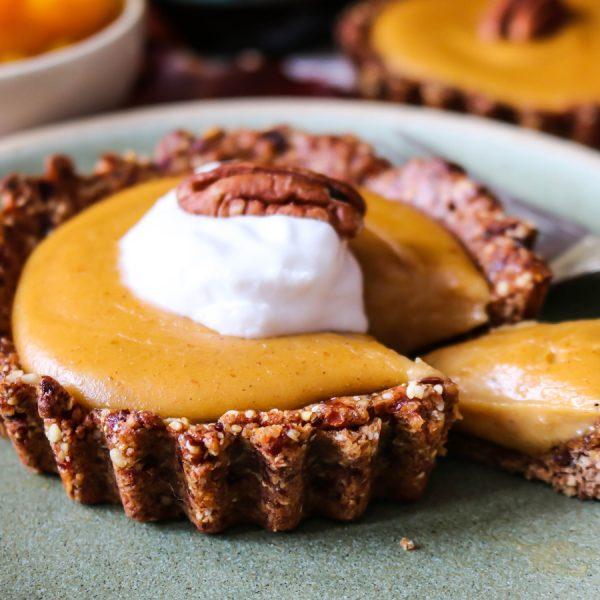 Pumpkin Caramel Tarts