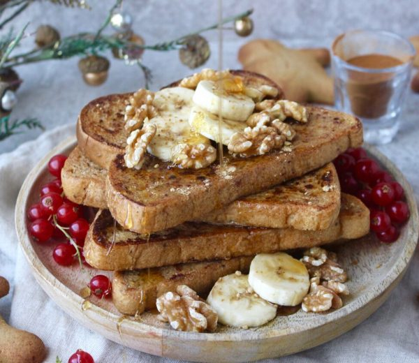 Vegan Gingerbread French Toast