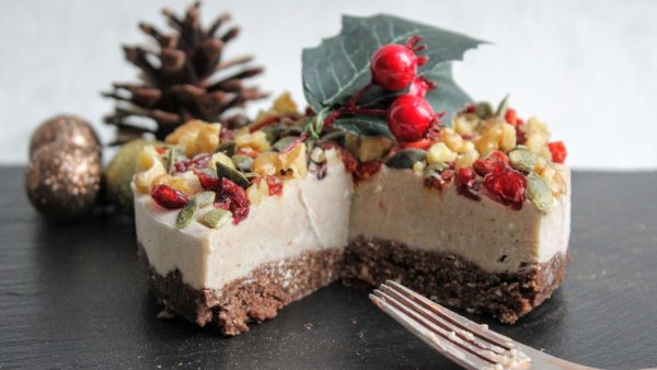 Festive No-Bake Cheesecake