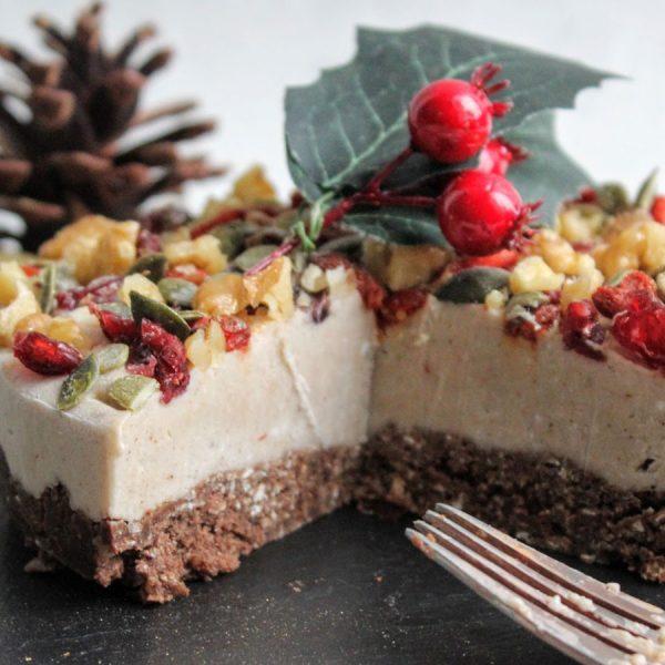 Festive No-Bake Cheesecake