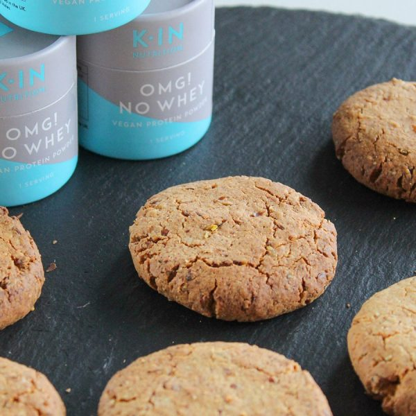 Flourless Almond & Coconut Protein Cookies
