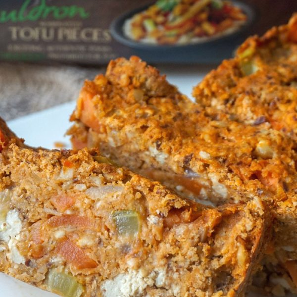 Tofu & Red Lentil Nut Roast
