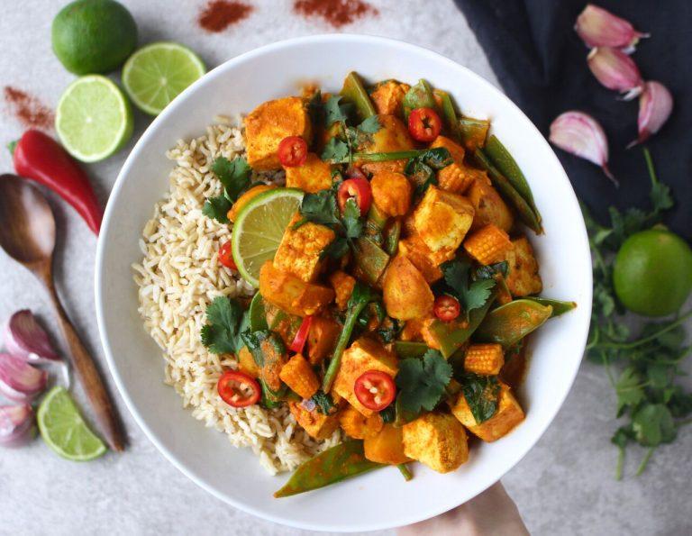 Tofu Thai Curry