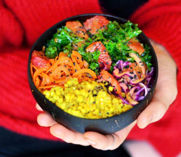 Blood Orange Superfood Buddha Bowl