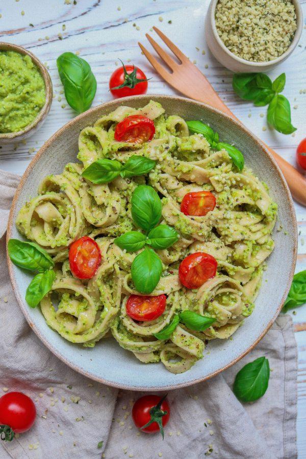 Courgette Pesto Pasta