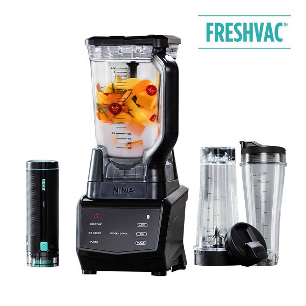 Ninja 1100W Smart Screen Blender with FreshVac Technology CT660UKV