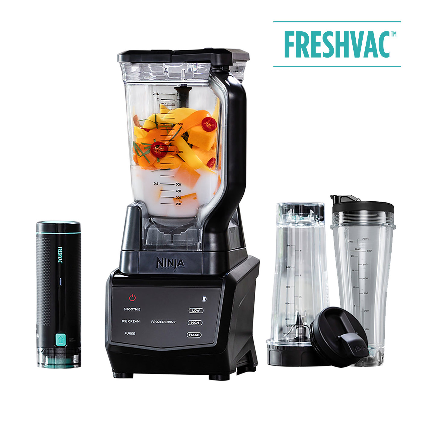 Ninja 1100W Blender with FreshVac Technology CT660UKV