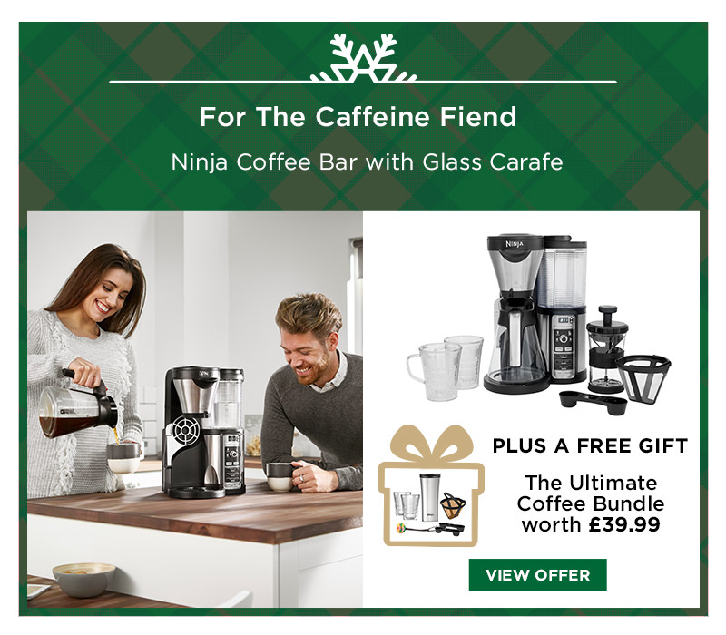 Ninja Coffee Bar with Glass Carafe CF060UK