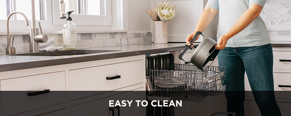 The Ninja Foodi is easy to clean