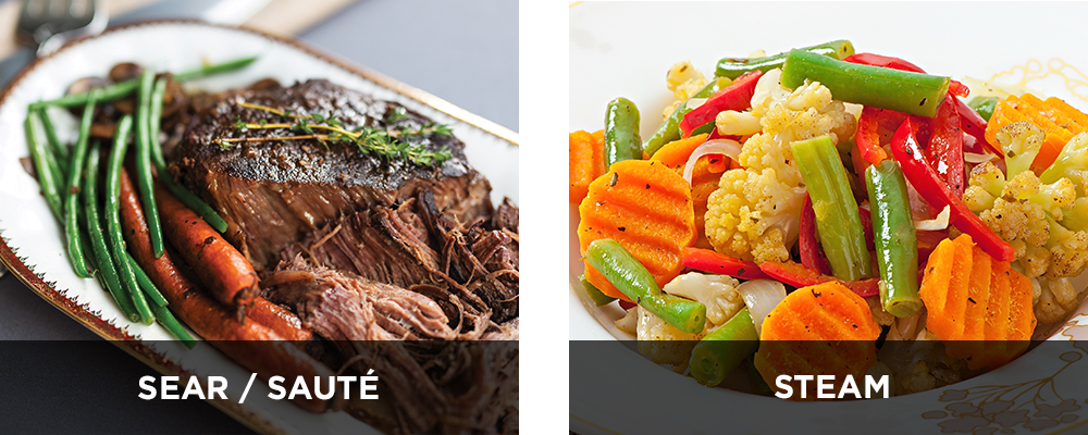 Sear, Sauté and Steam in the Ninja Foodi