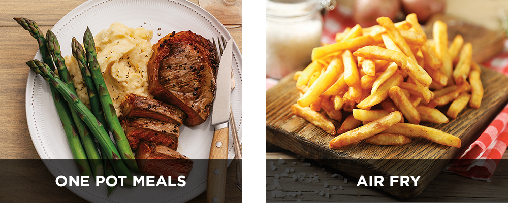 Make One Pot Meals and Air Fry with the Ninja Foodi