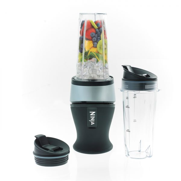 Image of Nutri Ninja 700W Blender & Smoothie Maker – QB3001UKS – Silver