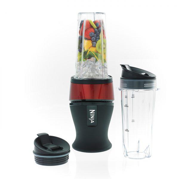 Nutri Ninja 700W Blender & Smoothie Maker – QB3001UKMRS – Red