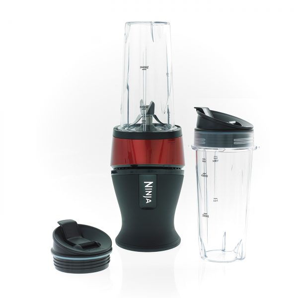 Image of Nutri Ninja 700W Blender & Smoothie Maker – QB3001UKMRS – Red