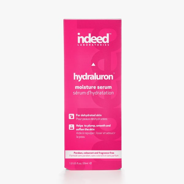 indeed laboratories hydraluron moisture serum