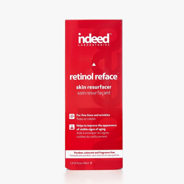 indeed laboratories retinol reface skin resurfacer