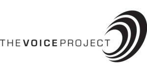 The Voice Project logo.