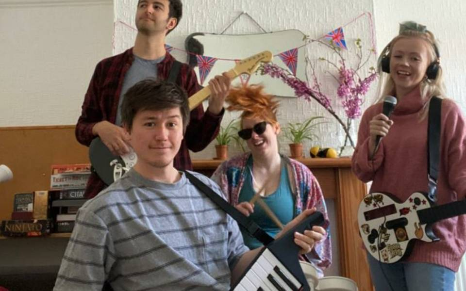 NNF does Radio Local Challenge: band