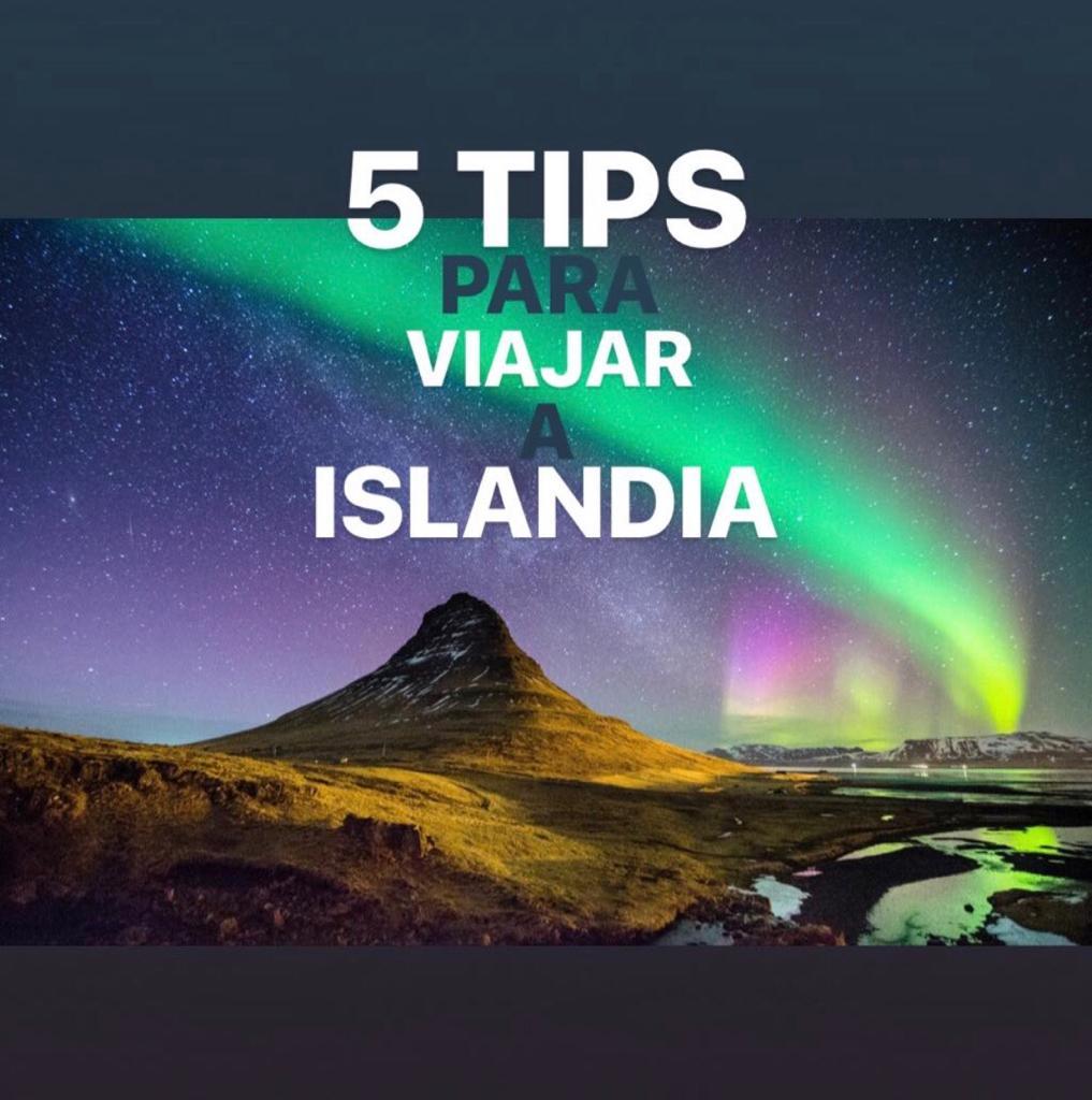 5 recomendaciones para compartir viaje a Islandia