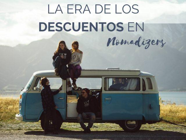 Descuentos en viajes y productos viajeros para Nomadizers Premium