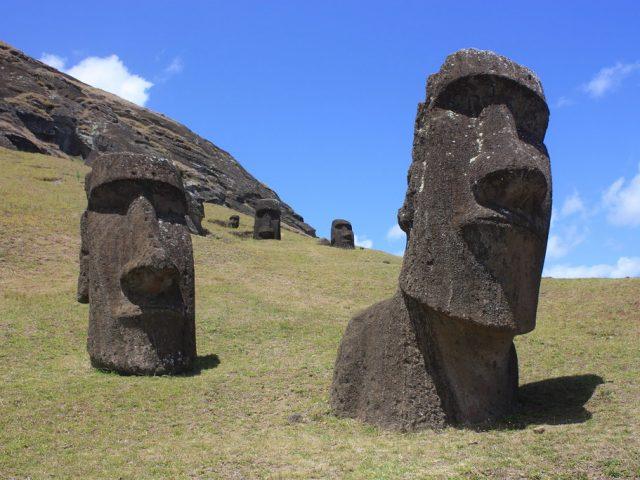 La historia de la Isla de Pascua