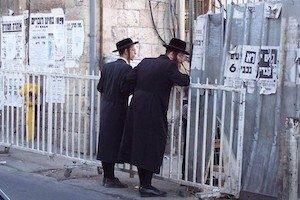 Judío en el barrio Mea Shearim