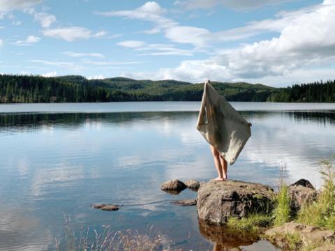 Vi elsker: Reisehåndkle i Lin
