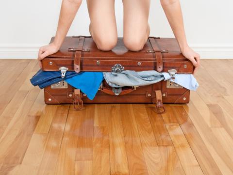 Kunsten å reise (kun) med håndbagasje