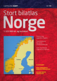 Ck 14 Stort Bilatlas Norge