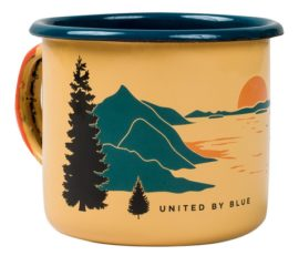 United By Blue Enamel Steel Mug