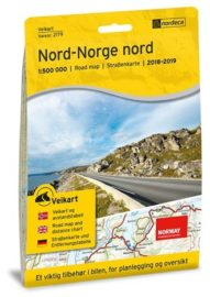 Veikart Norge Nord-Norge Nord