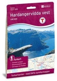 Turkart-SerienNorge Hardangervidda Vest