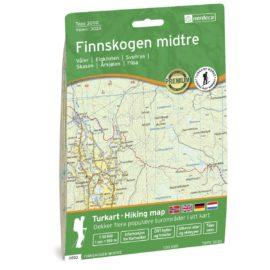 Topo 3000 3033 Finnskogen Midtre