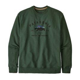 Fitz Roy Bear Uprisal Crew Sweatshirt Herre